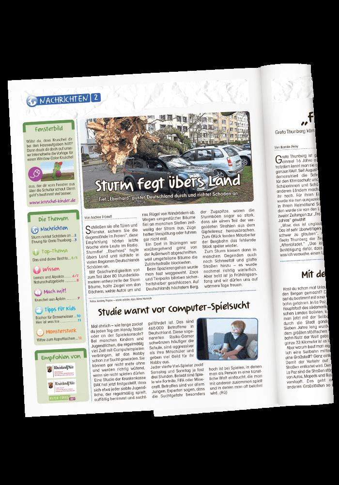 Blick ins Heft: Nachrichten