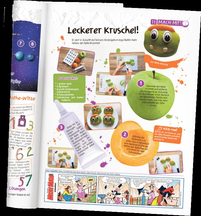 """Blick in die """"Kruschel""""-Kinderzeitung - Mach mit!"""