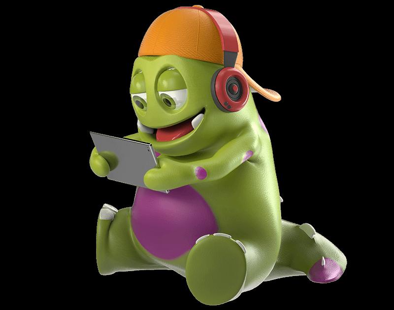 Kruschelfigur digital