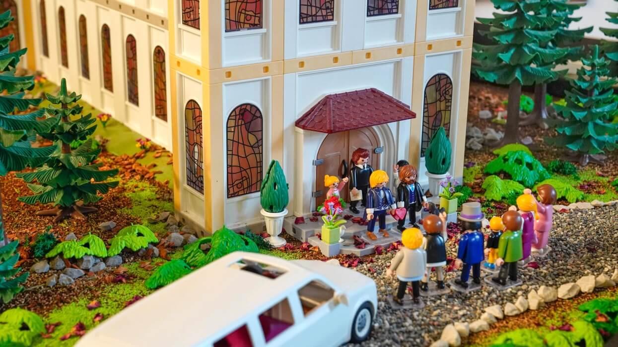 Playmobilausstellung Kloster Eberbach